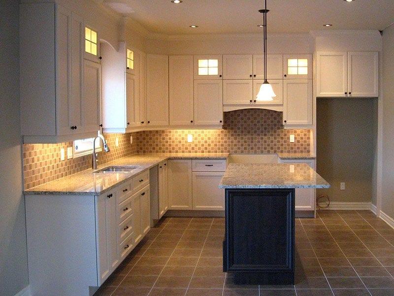 Habitations Trudeau Ile Perrot Vaudreuil Dorion Hudson West Island compagnie de construction cuisine